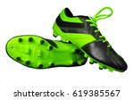 Football Boots Isolated On...