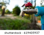 Faucet Water Blur Background