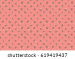 seamless floral background....   Shutterstock . vector #619419437