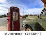 Vintage Rusty Truck On Gas...