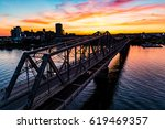 Alexandra Bridge In Ottawa At...