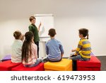 education  elementary school ... | Shutterstock . vector #619473953