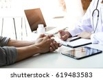 health care and medical concept ... | Shutterstock . vector #619483583