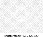 3d effect geometric seamless... | Shutterstock .eps vector #619523327