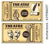 vintage theatre performance...