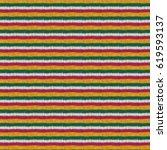knitting hand made wool... | Shutterstock . vector #619593137