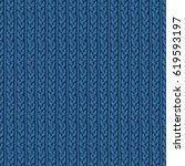knitting hand made wool... | Shutterstock . vector #619593197