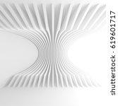 3d rendering of abstract... | Shutterstock . vector #619601717