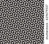 vector seamless interlacing... | Shutterstock .eps vector #619679537