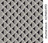monochrome minimalistic... | Shutterstock .eps vector #619681493