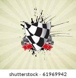 racing sign | Shutterstock .eps vector #61969942