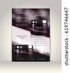 flyer  brochure or magazine...   Shutterstock .eps vector #619746647