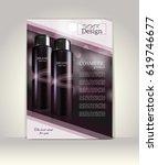 flyer  brochure or magazine... | Shutterstock .eps vector #619746677