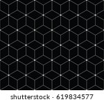 sacred geometry grid graphic... | Shutterstock .eps vector #619834577