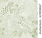 vector organic seamless...   Shutterstock .eps vector #619858067