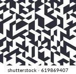 irregular vector black and... | Shutterstock .eps vector #619869407