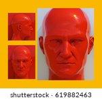 3d render  realistic 3d human...   Shutterstock . vector #619882463