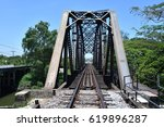 railway bridge | Shutterstock . vector #619896287