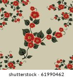 beautiful seamless pattern with ... | Shutterstock . vector #61990462