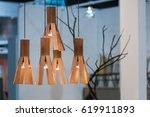 decoration hanging modern... | Shutterstock . vector #619911893