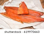 Red Fish On A Table. The Fish...