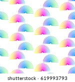 colorful retro toys.  | Shutterstock .eps vector #619993793
