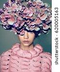art fashion portrait vogue... | Shutterstock . vector #620005163