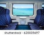 empty interior of the train for ...   Shutterstock . vector #620035697