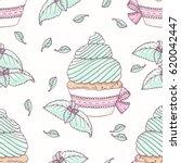 hand drawn seamless pattern...   Shutterstock .eps vector #620042447