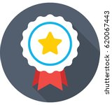star badge vector icon | Shutterstock .eps vector #620067443