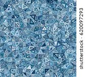 sea blue gradient low poly...   Shutterstock .eps vector #620097293