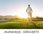 full length of young male... | Shutterstock . vector #620116073