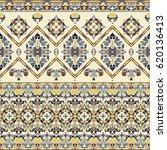 seamless ethnic patterns for... | Shutterstock .eps vector #620136413