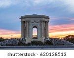 pavillon du peyrou in... | Shutterstock . vector #620138513
