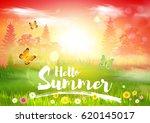 summer. | Shutterstock .eps vector #620145017