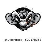 cool gangster bad monkey chimp...