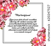 romantic invitation. wedding ... | Shutterstock .eps vector #620247527