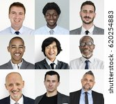 collection of businessmen...   Shutterstock . vector #620254883