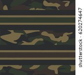 seamless camouflage pattern... | Shutterstock .eps vector #620274647