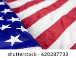 usa flag background with copy...   Shutterstock . vector #620287733