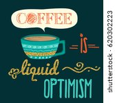 retro background with coffee... | Shutterstock .eps vector #620302223