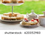 english afternoon teas in the... | Shutterstock . vector #620352983