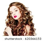 beautiful people. curly hair... | Shutterstock . vector #620366153
