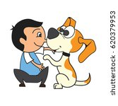 animal care concept  love ...   Shutterstock .eps vector #620379953