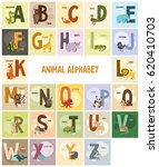 set of images with letters and... | Shutterstock . vector #620410703
