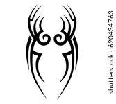 tattoo tribal vector designs.... | Shutterstock .eps vector #620434763