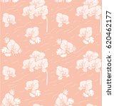 seamless floral pattern.... | Shutterstock .eps vector #620462177