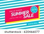 summer sale template banner | Shutterstock .eps vector #620466077