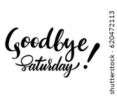 weekend card with phrase... | Shutterstock .eps vector #620472113