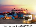 industrial logistics and... | Shutterstock . vector #620473313